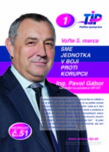Ing. Pavol Gábor